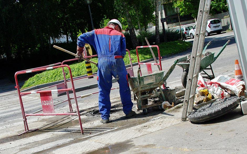 canalisation egout Courbevoie